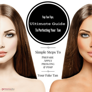 how to apply fake tan