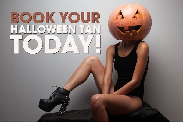halloween spray tan