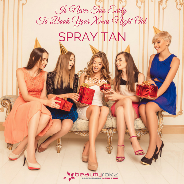 christmas tan spray tan ayr